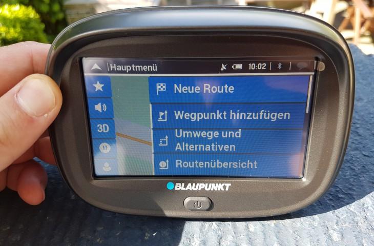 Motorradnavigation