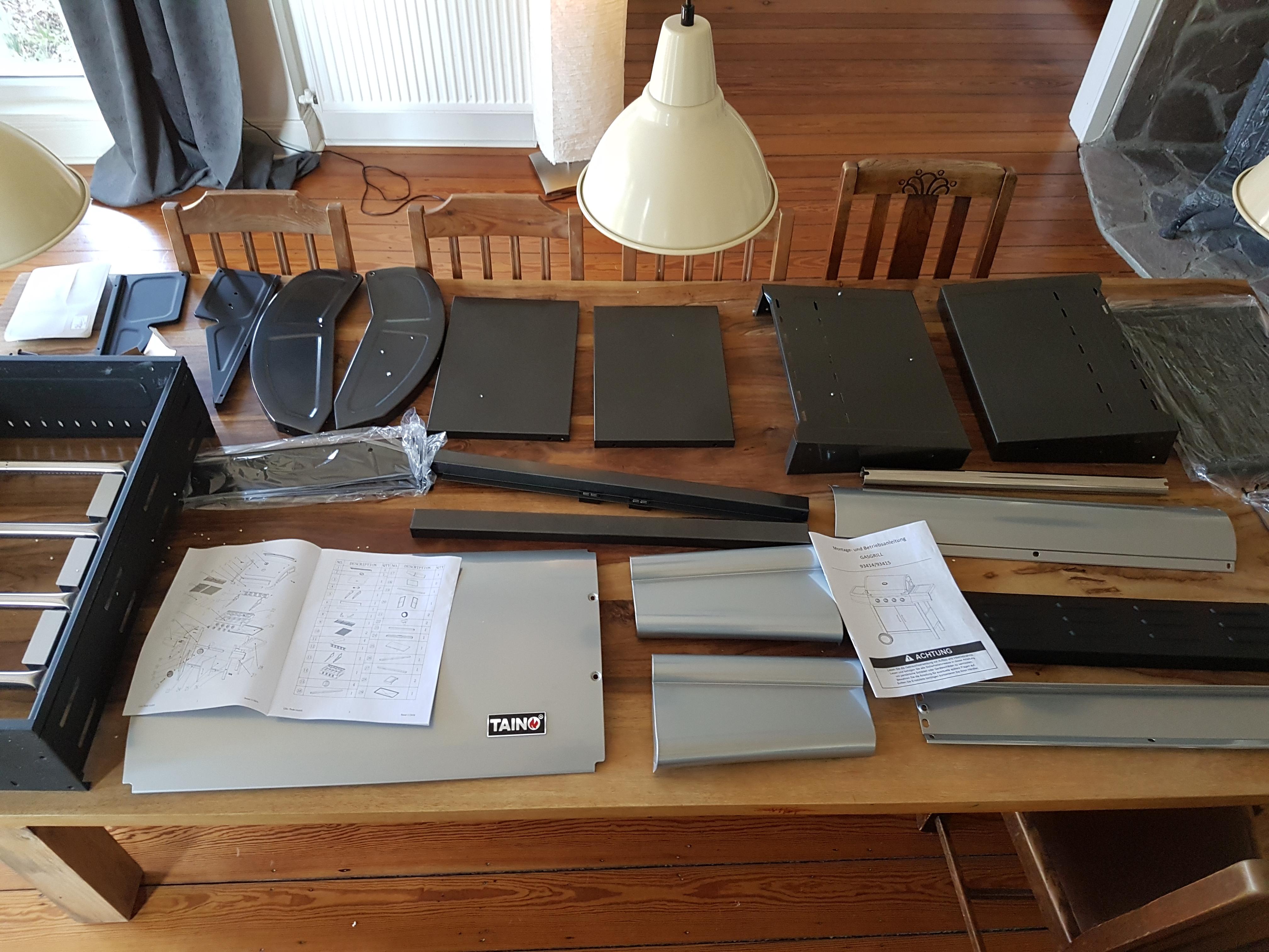 Taino Holzkohlegrill Test : Der neue taino gasgrill brenner modell silber hobby test
