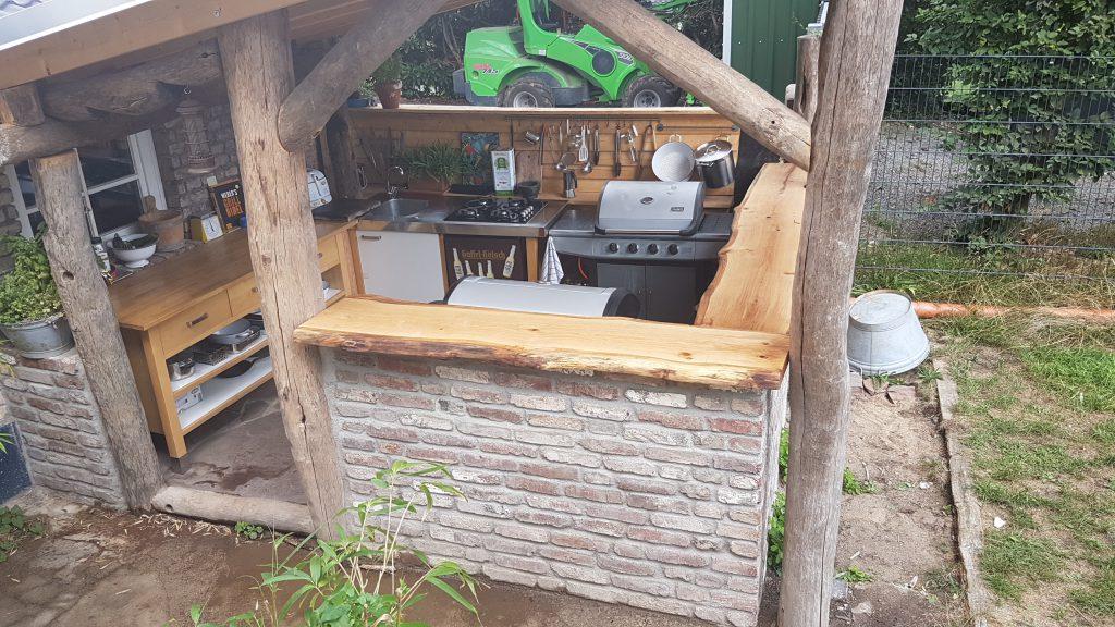 Außenküche Selber Bauen Test : Grill außenküche selber bauen fotobericht hobby test.de